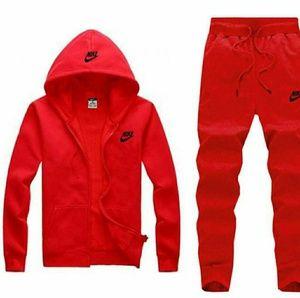Nike sweat suit